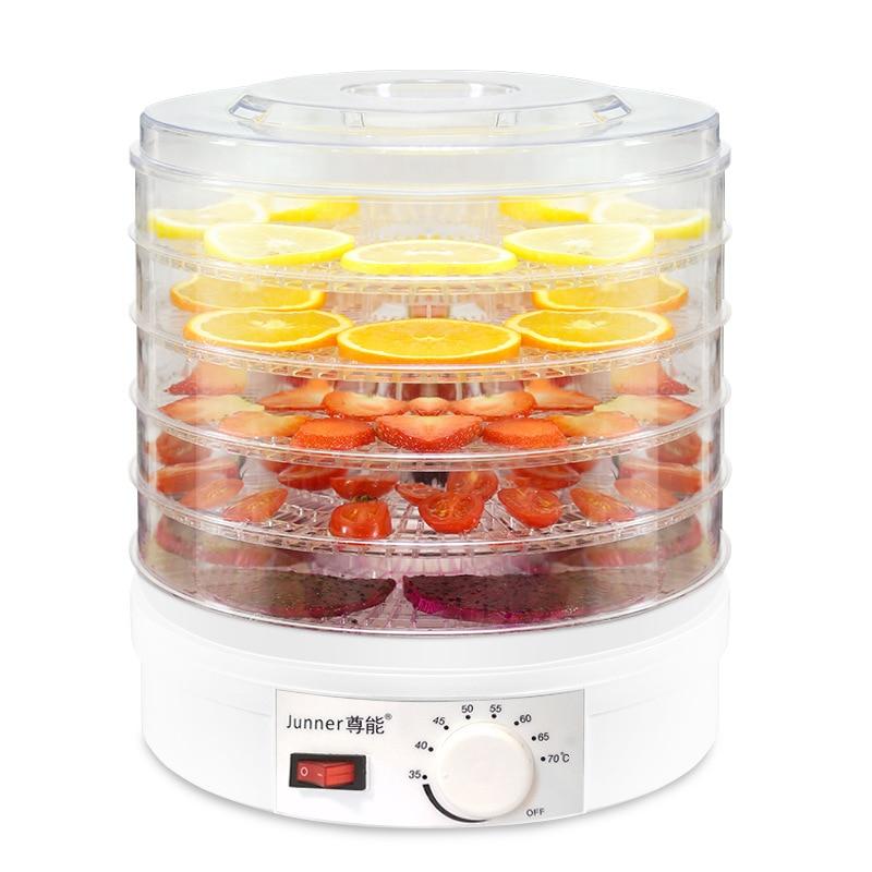 Maison Mini séchoir à fruits électrique collation pour animaux de compagnie Machine de séchage à l'air déshydrateur de nourriture déshydrateur de fruits pour appareils de cuisine de champignons
