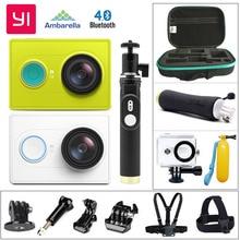 Original xiaomi yi deporte cámara de acción wifi yi yi xiao Xiaoyi Deporte Cámara 16MP Ambarella 60FPS WIFI Bluetooth Impermeable DV Cam