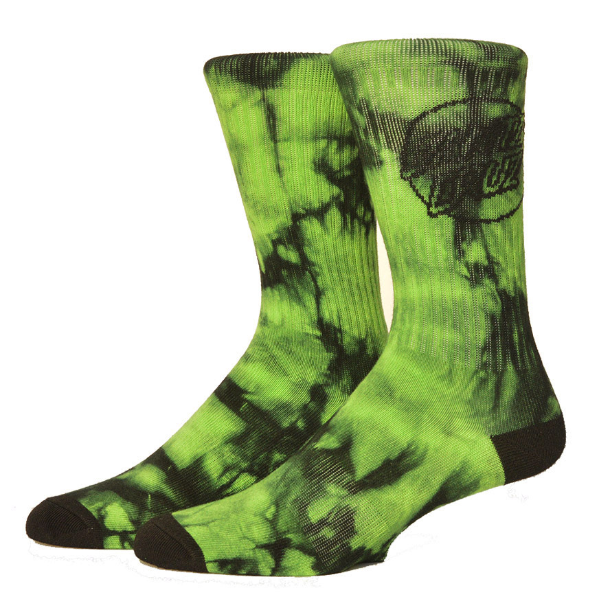 2018 Santa Cruz Socks Skateboard High Quality Cotton Basketball Socks Sport Colorful Tie Dye Funny Socks