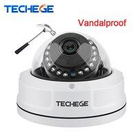 Techege H.265 4MP IP Camera Dome Camera P2P Onvif Security Camera 2592*1520 Vandalproof Alarm Email Night Vision Network Camera