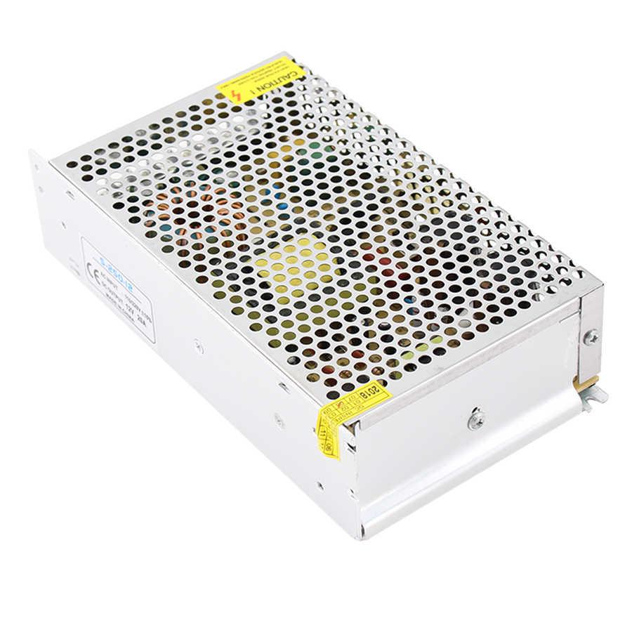 DC 5 V 12 V 24 V 36 V Питание адаптер трансформаторы светодиодный Питание 12-24 В, 36 В, 2A 3A 5A 6A 8A 10A 15A 20A светодиодный драйвер