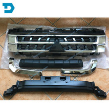 цена на 2007-2018 pajero v97 chrome grille 7450A956 montero v93 bumper net different style different clips  7450A368