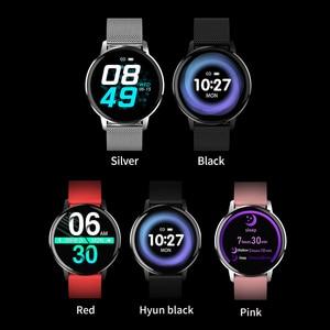 Image 3 - Rundo T4 ساعة ذكية للنساء الرجال معدل ضربات القلب ضغط الدم رصد موضة الرياضة ساعة تعقب اللياقة البدنية ل أندرويد أو IOS
