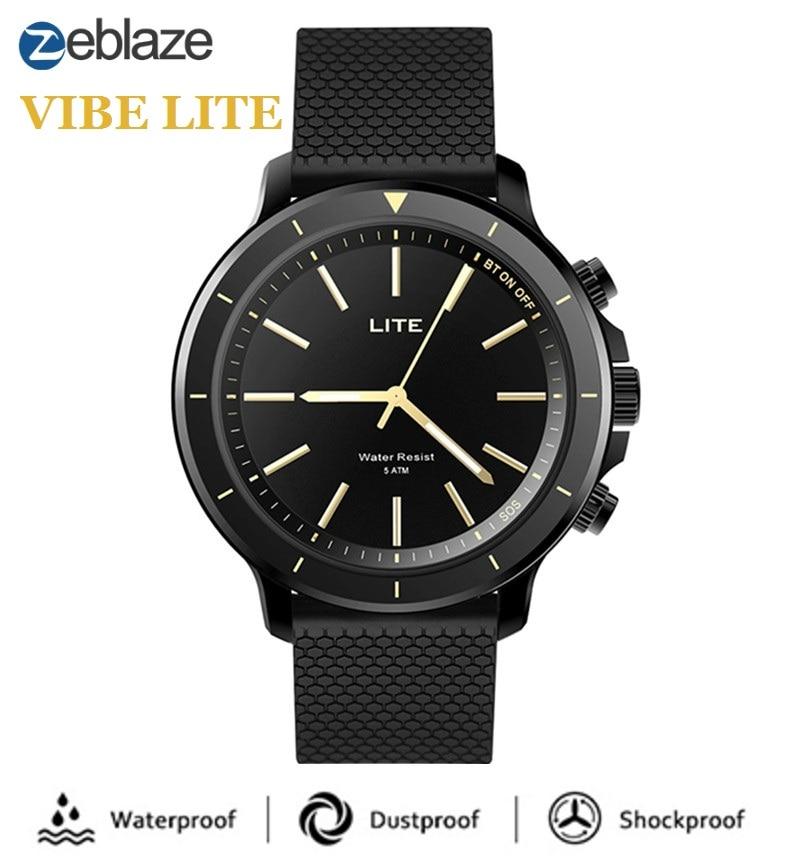Zeblaze VIBE LITE Sports Smartwatch Bluetooth Outdoor 5 ATM Waterproof Smart Sport Fitness Trackers Weather Forecast Watch Men