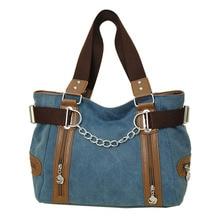 Mode Damen Umhängetaschen Vintage Casual Weiblichen Handtasche Tote Messenger Taschen Design Leinwand Schulter Frauen Tasche Bolosa
