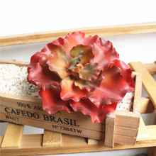 Simulation Succulents Flower Heads Creative DIY Supplies Plant Wall Accessories Artificial Flowers Plastic