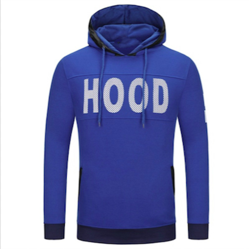 2018 Sweater Brand Men Chest Letter Print Male Sweater Hip Hop Autumn Winter Sweater Mens Pullover Cotton Xxxl