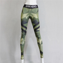 Camouflage Render Leggings Autumn Printed Leisure Leging Capris Gaiters Boothoses