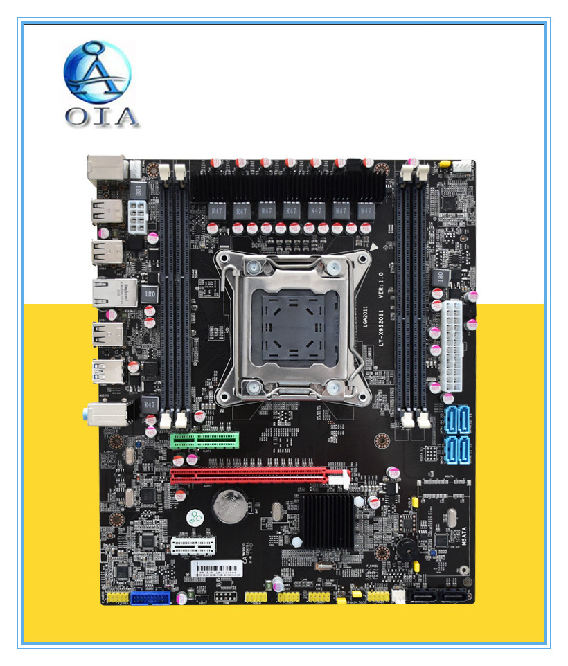New motherboard X79 support E5 2660 2670 Ecc ram 4*RAM slots 64G LGA 2011 DDR3 ATX mainboard desktop motherboard new motherboard x79 support e5 2660 2670 ecc ram 4 ram slots 64g lga 2011 ddr3 atx mainboard desktop motherboard