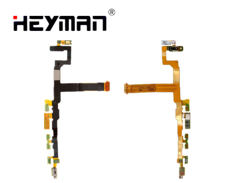 Side Button Flex Cable for <font><b>Sony</b></font> <font><b>Z5</b></font> Compact Mini E5803 E5823 <font><b>Motherboard</b></font> microphone Ribbon Replacement image