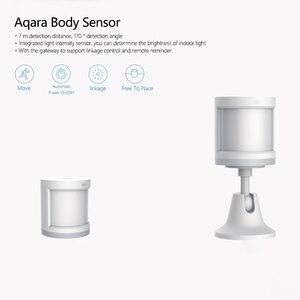 Image 5 - Originele xiaomi Aqara Body Sensor & Lichtintensiteit Sensoren, zigBee wifi Draadloze Werk voor xiaomi smart home mi jia mi thuis app