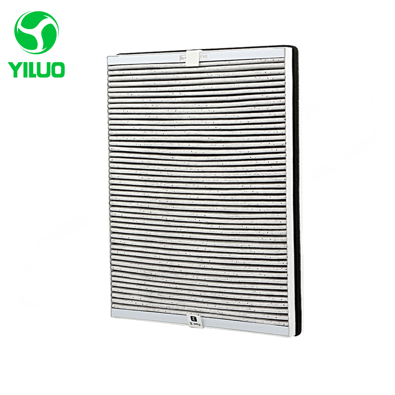 365*278*45mm High Effective Composite Hepa Filter Screen with Removal of Formaldehyde for AC4016 AC4076 AC4147 Air Purifier аксессуары для увлажнителей воздуха philips ac4147 ac4076 4016