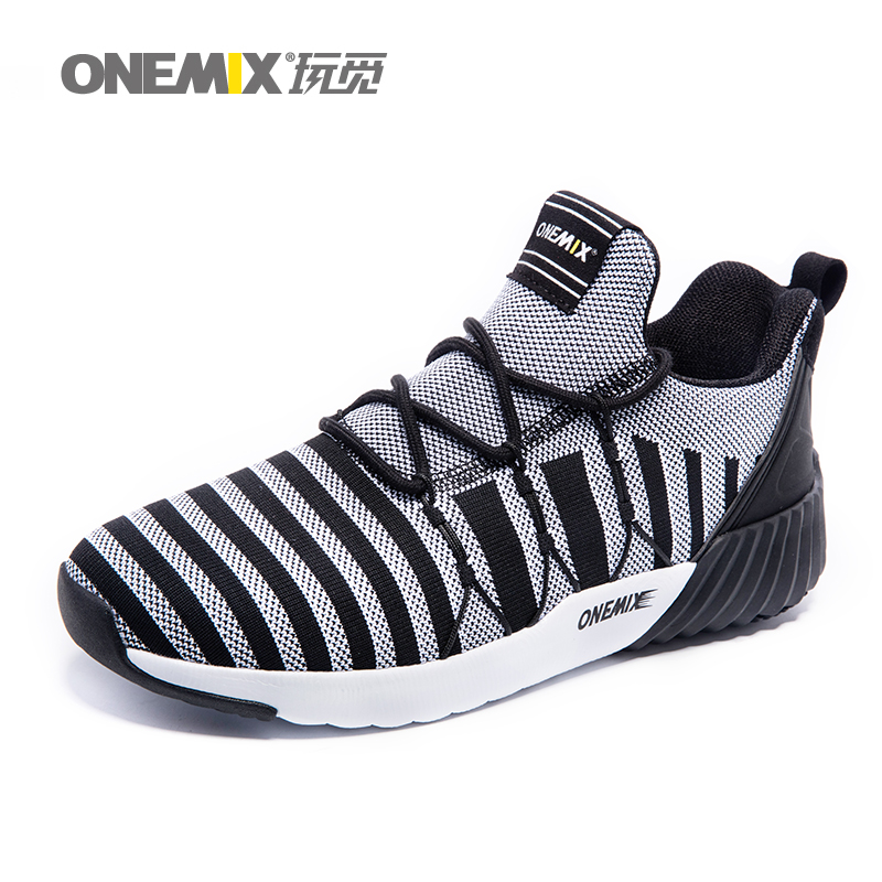 ONEMIX Man Running Shoes for Men Mesh Breathable Trail Road Walking Sneakers Outdoor Sports Boot Athletic Trainers Footwear 2018