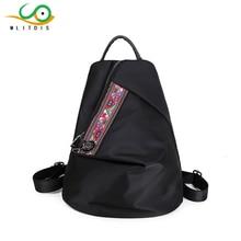 Mlitdis Брендовые женские рюкзак Водонепроницаемый нейлон Школьные ранцы Студенты Рюкзак женские Дорожные сумки сумка для девочек-подростков