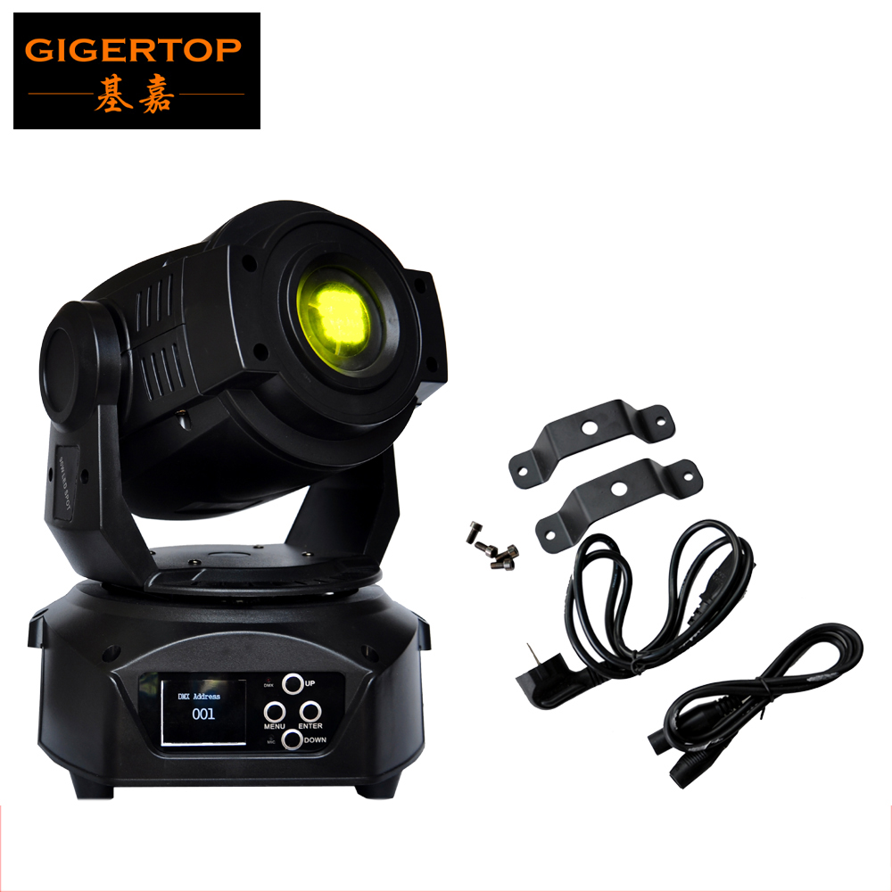 New Arrival 90W Led Moving Head Spot Light DMX 14 Channel Led Gobo Moving Head 90W Electronic Focus,3Facet Prism Effect 90V-240V