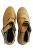 Invierno Cálido Casual High Top Zapatos Mocasines de Cuero Botines