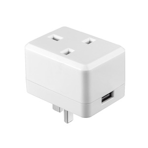 "Image 2 - USB חכם תקע בריטניה/האיחוד האירופי/ארה""ב Wifi חכם שקע שלט רחוק עם Usb יציאת עובד עם Alexa Google בית מיני IFTTT אין רכזת הנדרש"