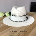 2017 high-end custom M standard cloth hat hat black lace sunscreen new winter