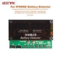 Wozniak for Iphone 4 4s 5 5s 5c se 6 6p 6s 6sp 7 7p 8 8p x Mobile Phone Battery Detector Capacity Table Comprehensive Detector