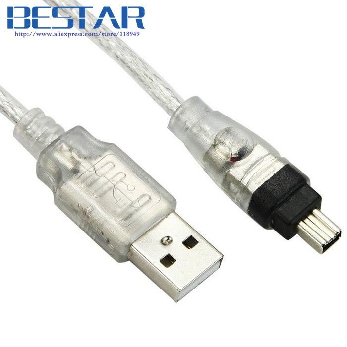 Usb männlichen firewire ieee 1394 4 pin stecker ilink adapter kabel ...