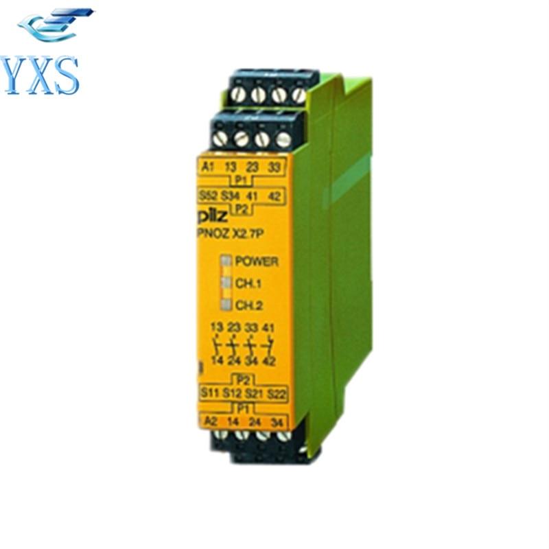 Origianl 774306 24V Relay PNOZ X2.1 Safety RelayOrigianl 774306 24V Relay PNOZ X2.1 Safety Relay