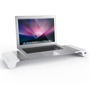 Модная Современная подставка для монитора компьютера, поднос, перезаряжаемая подставка для ноутбука, настольная подставка из высококачест...