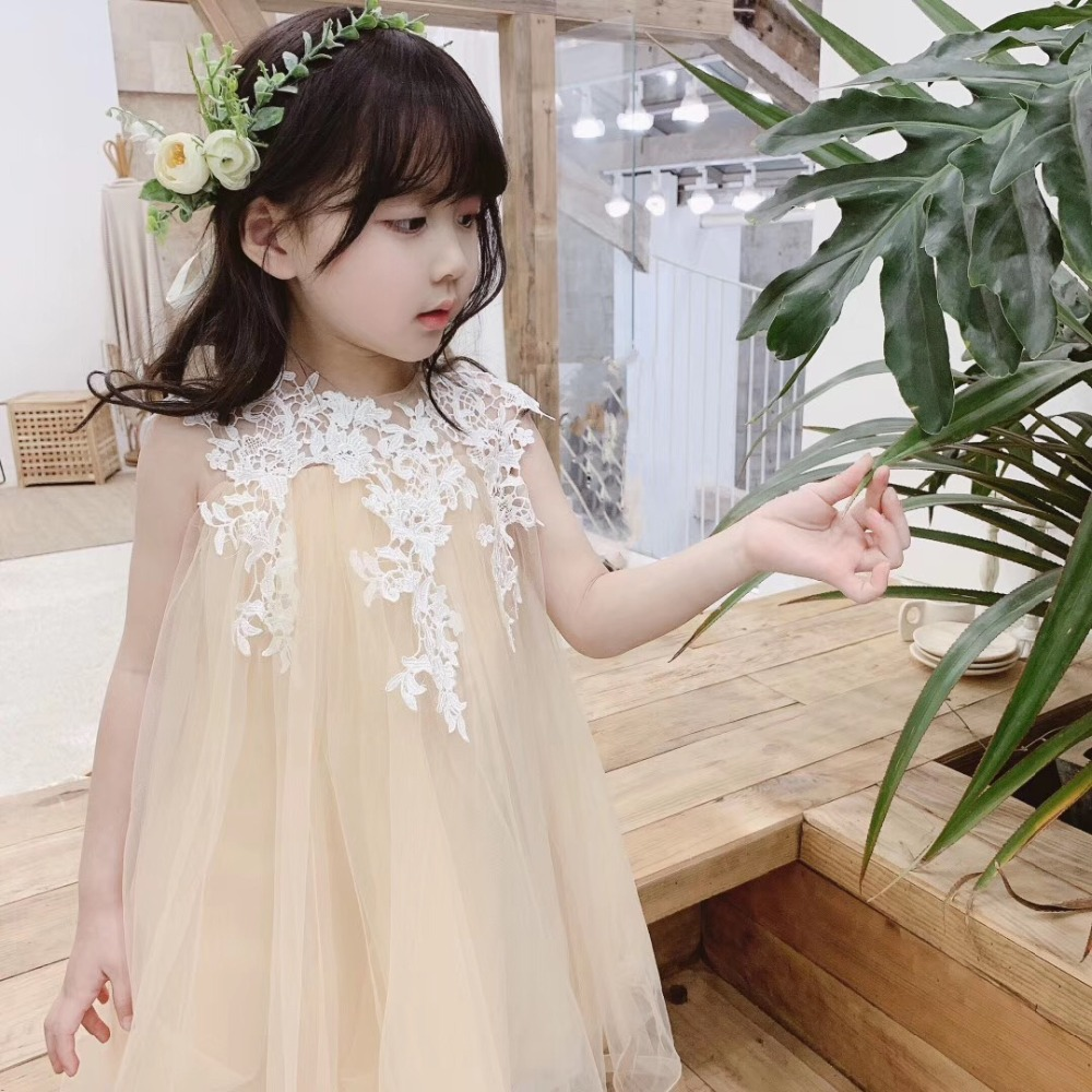 2019 summer girls party dress lace mesh patchwork sweet baby girls princess party dress 2019 summer girls party dress lace mesh patchwork sweet baby girls princess party dress