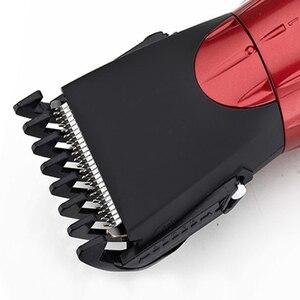 Image 5 - جديد قابل للغسل مقص الشعر الكهربائية قابلة للشحن الحلاقة للرجال الطفل HC001 اللاسلكي أداة تهذيب اللحية ماكينة حلاقة قص الشعر 220 فولت