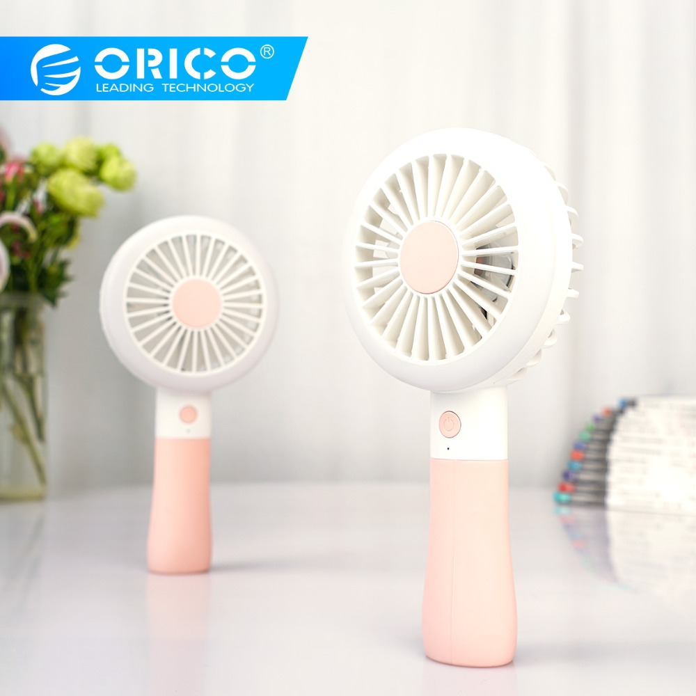 ORICO Handheld USB Fan Portable Fill light Fan for Office Dormitory Outside Rechargeable USB Fan Cooler with 1200mah Battery-in USB Gadgets from Computer & Office on AliExpress - 11.11_Double 11_Singles' Day 1