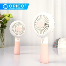 ORICO Handheld USB Fan Portable Fill light for Office Dormitory Outside Rechargeable Cooler with 1200mah Battery