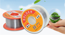 0.3/0.4/0.5/0.6/0.8/1/1.2/1.5/2.0mm 50/100g 2.0% Tin Lead Wire Melt Rosin Core Solder Soldering Roll
