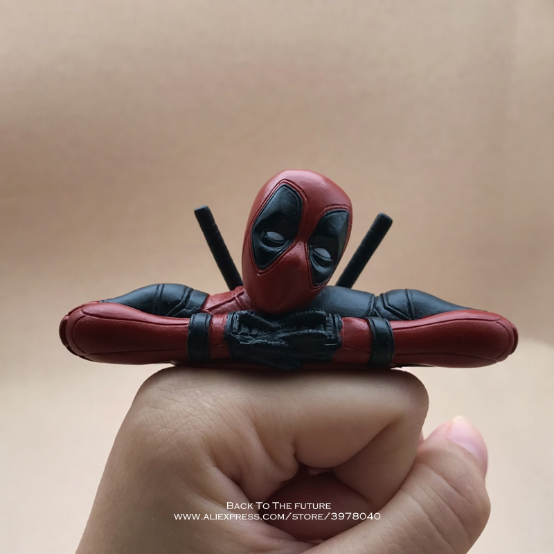 Disney Marvel X-Men 8.5*3.5cm Deadpool 2 Action Figure Anime Decoration PVC Collection Figurine Toys Model For Children Gift