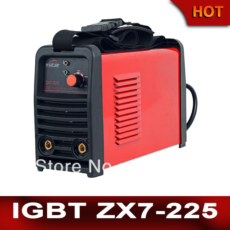 Инвертор постоянного тока IGBT сварочное оборудование MMA сварочный аппарат zx7 225 (arc225) сварщик, Бесплатная доставка, оптовая и розничная & oem