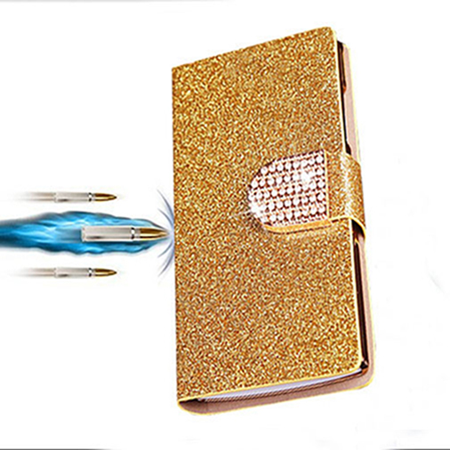 Luxury shinning PU leather case For Oneplus 3 One Plus Three flip stander wallet phone cases cover with card slot