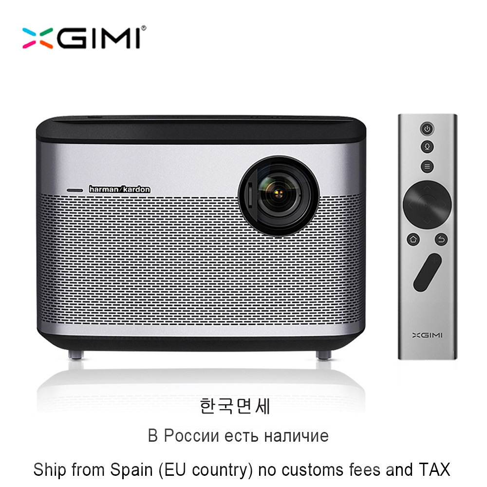 XGIMI H1 DLP Projector 1920x1080 Full HD 3D Support 4K Proyector Android 5.1 Bluetooth Wifi Home Theater 300inch Screen Beamer проектор sansui hd dlp 3d 1200 3d proyector 200 sansui x5 luxury version