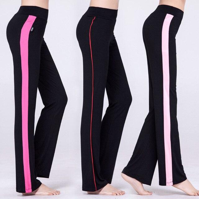 Femmes Yoga pantalon de Course Élastique Respirant Fitness Pantalon Dames  Mouvement pantalon pour Femme serré stretch bfb341480116