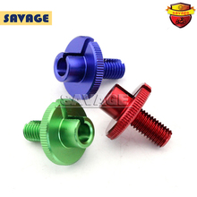 For YAMAHA YZF R3/R25 YZF-R3 YZF-R25 2014-2015 Motorcycle Accessories Billet Clutch Cable Wire Adjuster M10x1.5 Red/Blue/Green стоимость