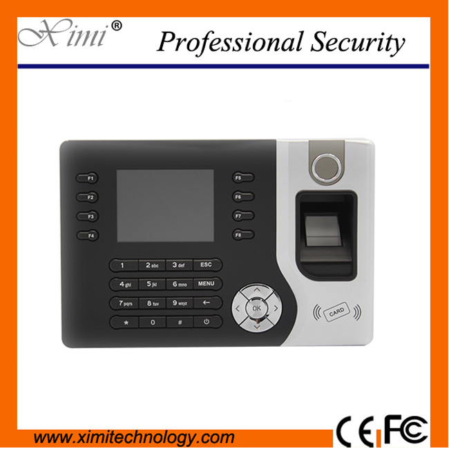 A-C071 TCP/IP RFID card Biometric Fingerprint Time Clock Recorder Attendance Employee Electronic Punch Reader Machine Realand biometric fingerprint access controller tcp ip fingerprint door access control reader