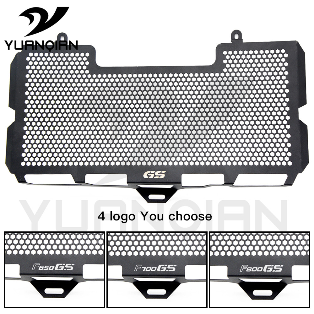 Motorcycles Radiator Grill Guard Cooler Cover For BMW F650GS F700GS F800GS 2008-2012 motorcycle radiator grille grill guard cover protector golden for kawasaki zx6r 2009 2010 2011 2012 2013 2014 2015