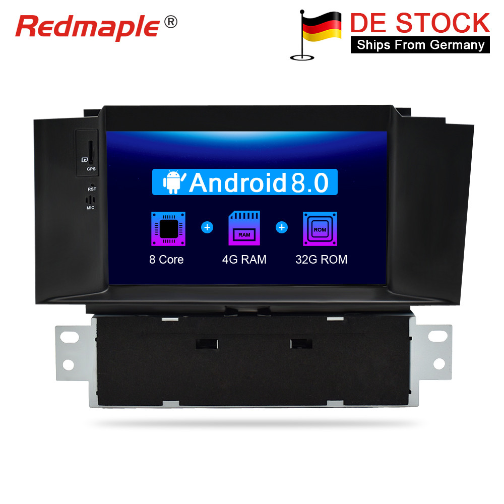 4G RAM Android 8.0 Car Radio DVD GPS Navigation Multimedia Player For Citroen C4 C4L DS4 2011 2016 Auto Audio Video Stereo