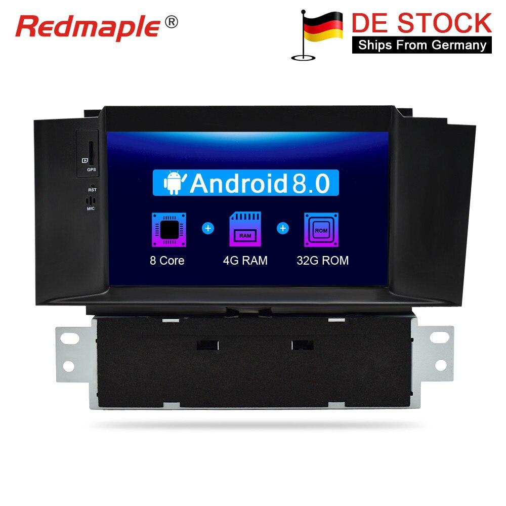 4G di RAM Android 8.0 Autoradio Lettore DVD GPS di Navigazione Multimediale Per Citroen C4 C4L DS4 2011-2016 auto Audio Video Stereo
