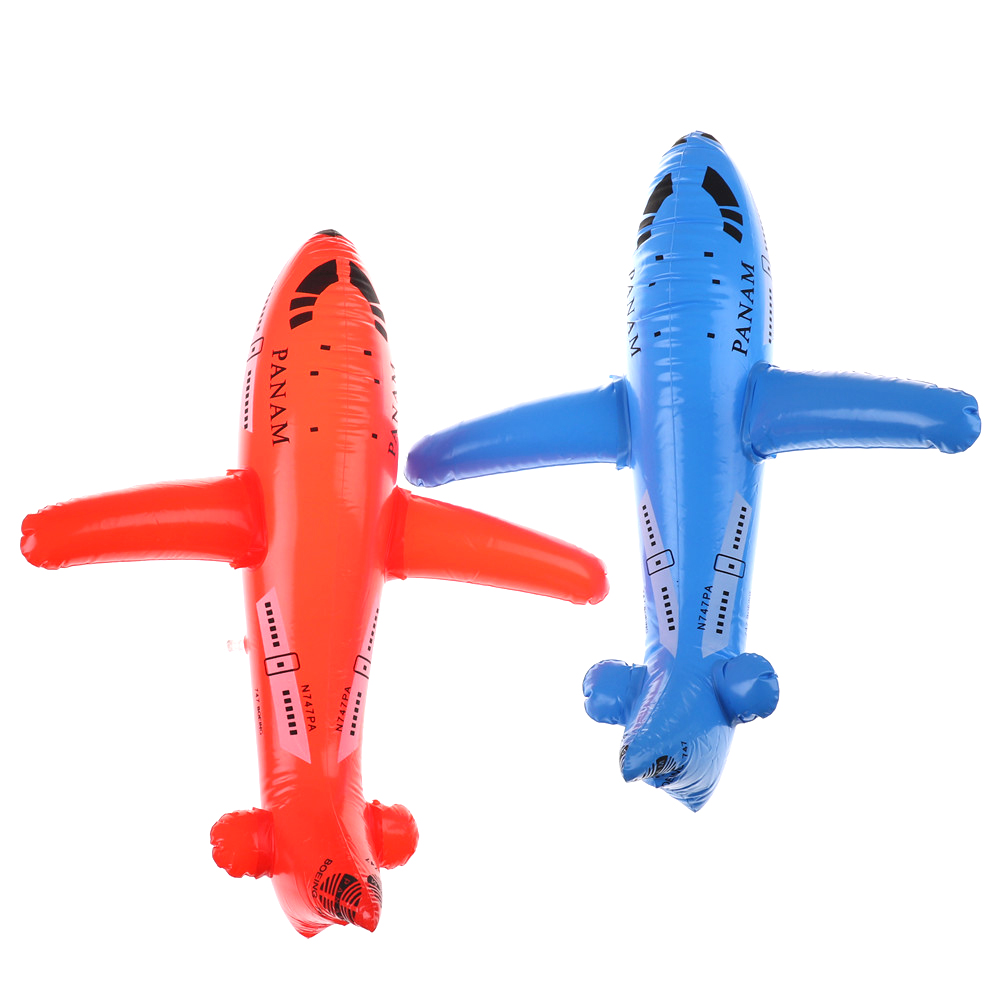 Classic Toys Aircraft Cartoon Plane Inflatable Airliner PVC Plastic Balloons Planes Toys Ballon Kid Birthday Gift