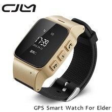 Bluetooth gps ältere smart watch d99 schrittzähler zwei-wege-kommunikation wifi smartwatch telefon unterstützung sos clarm für alte männer frauen