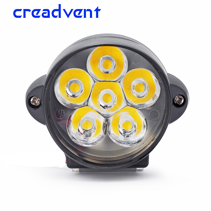 2018 newest 1200LM LED Motorcycle headlight Scooters fog lamp Spotlight DRL Motorbike Working Light accessory 12V 6500k white зубная щетка колгейт 360 глубокая чистка мягкие скидка 15 72 шт 21141