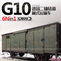 Assembly 35A01 German Two axle Track G10 Van 1/35 Model Kit for Gift Toys