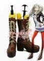 Persona 5 Anne Takamaki Cosplay Botas Zapatos de Anime