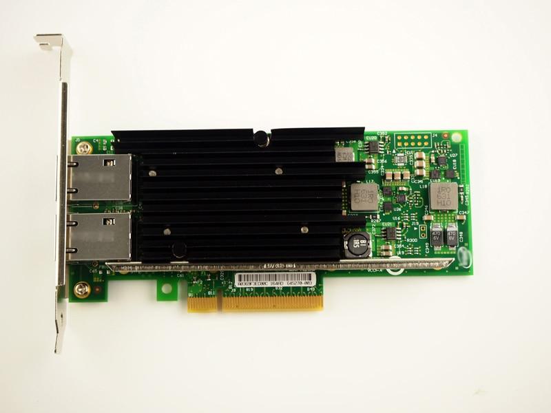X540-t2 10 г двойной RJ45 Порты и разъёмы pci-e Ethernet сетевой адаптер для Чипсет X540 Бесплатная доставка