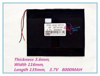 36116135 планшетный ПК емкость аккумулятора 3,7 в ма 8 дюймов 9 дюймов 10 дюймов каждый бренд планшет универсальные литиевые аккумуляторы