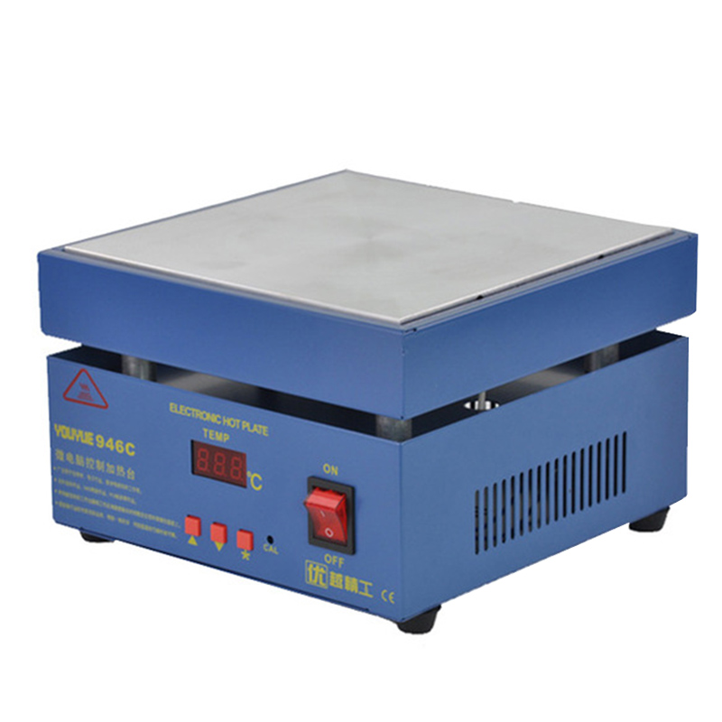 110V/220V Preheating Station Electronic Hot Plate Preheat LCD Digital Display For PCB SMD Heating Phone Touch Screen Repair