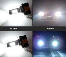 6000 K 3000 K H15 Lâmpada LED luz de Nevoeiro Para Audi A5/A6 Q7 BMW 2 Séries Benz GLK VW Golf/GTi Para farol Alto DRL de Circulação Diurna luz
